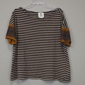 Anthropologie Lili's closet striped top